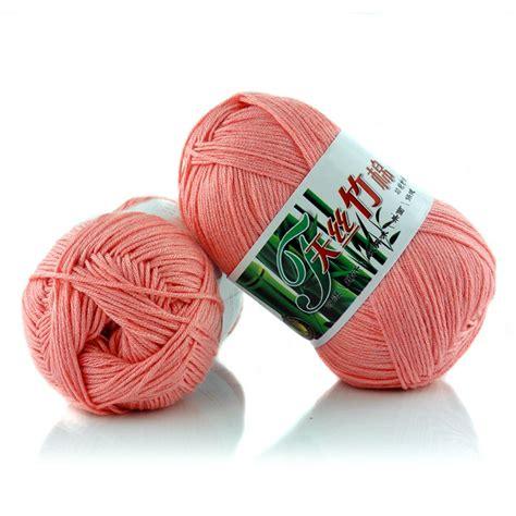 knitting in new yarn 50g wholesale lot soft bamboo cotton knitting yarn