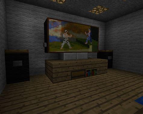 how to make furniture in minecraft minecraft blog minecraft furniture electronics minecraft television ideas