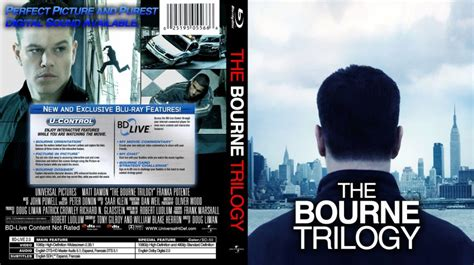 el caso bourne trilogia the gallery for gt the bourne identity dvd cover