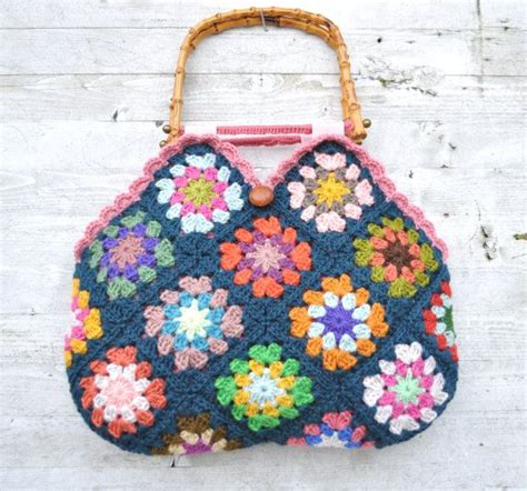 Crocheted Tote From Global by Best 25 Square Bag Ideas On