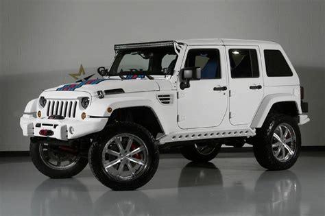 Jeep Tx 2013 Jeep Wrangler Unlimited Martini Hemi Edition 4wd