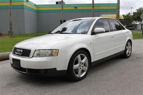 2003 audi a4 1 8 t gas mileage purchase used 2003 audi a4 awd 4d sedan qtro 1 8t us