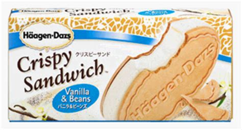 Haagen Dazs Crispy Sandwich food science japan haagen dazs crispy sandwich