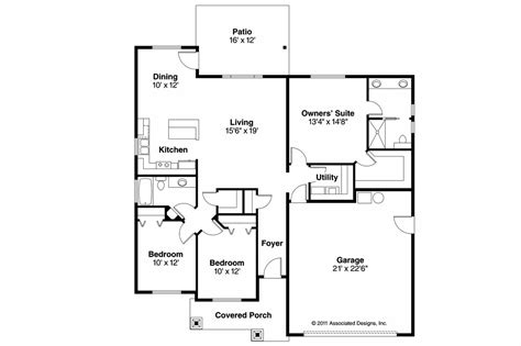 craftsman floorplans craftsman house plans camas 30 711 associated designs