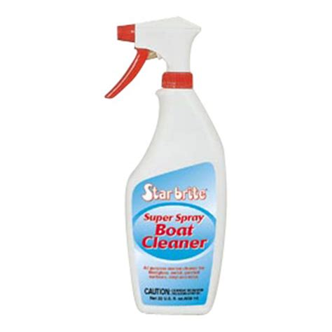 boat cleaning supplies starbrite super spray boat cleaner 177557 cleaning