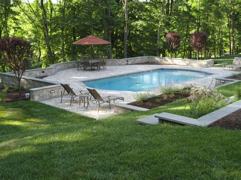 landscaped backyards with pools backyard pool designs ideas to perfect your backyard
