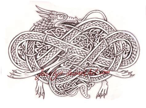 celtic dragon v by feivelyn on deviantart