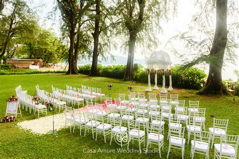 Wedding Backdrop Penang by Garden Ceremony At Lone Pine Hotel Penang Malaysia