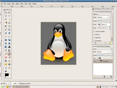 photoshop layout for gimp make gimp look like photoshop with gimphoto in depth