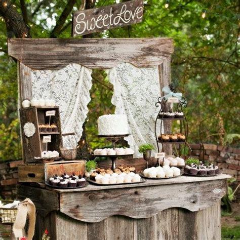 rustic wedding dessert table ideas lala lissy lou rustic wedding ideas