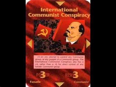illuminati card conspiracy illuminati card 81 international communist conspiracy