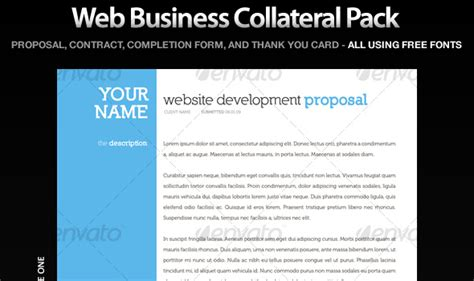 ux design proposal exle professional proposal and invoice templates designmodo