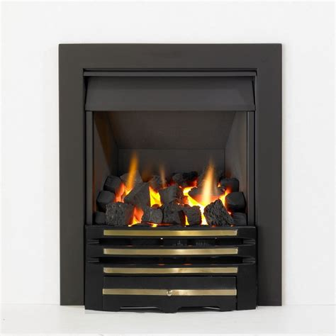 Open Gas Fireplaces by Kinetic Inset Open Fronted Manual Gas Class 1
