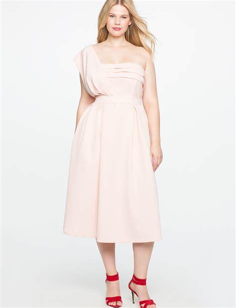 Lexa Dress Kode Ch 002 one shoulder draped event dress eloquii