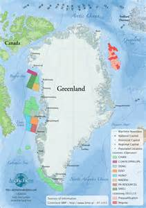 map of canada and greenland greenland arcticecon