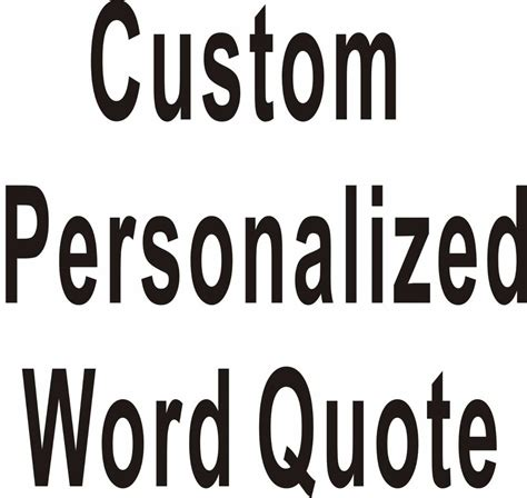 words for the wall home decor custom personalized own word quote wall stickers wall
