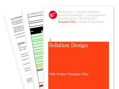 solution design web project template files econsultancy
