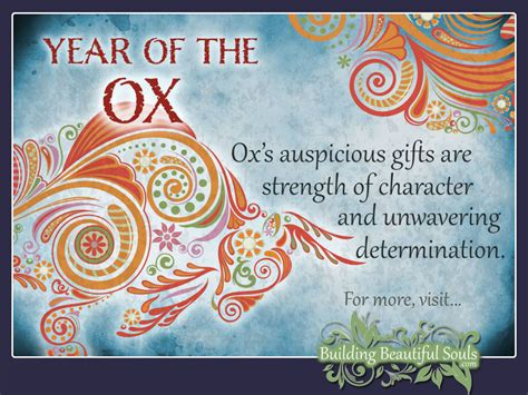 chinese zodiac ox year of the ox chinese zodiac signs