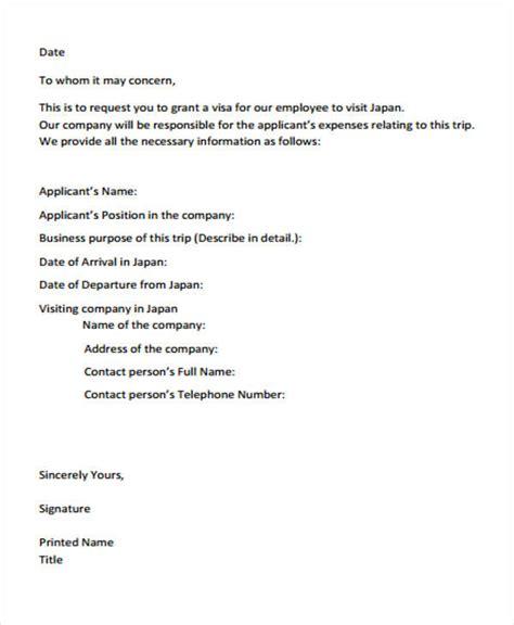 Offer Letter Japan 24 business letter sles