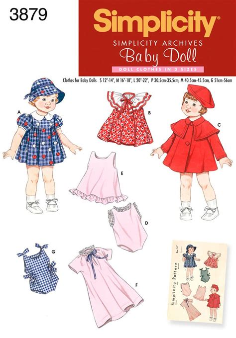 clothes pattern for baby 37 best images about doll patterns i have simplicity on