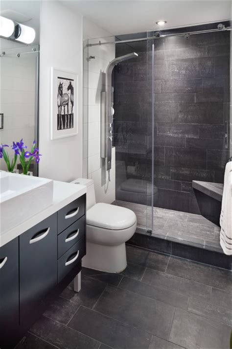 architectural design/build firm, Anthony Wilder Design/Build, transforms condo   Bathroom   dc