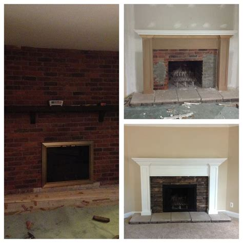 redoing brick fireplace 10 best ideas about brick fireplace remodel on