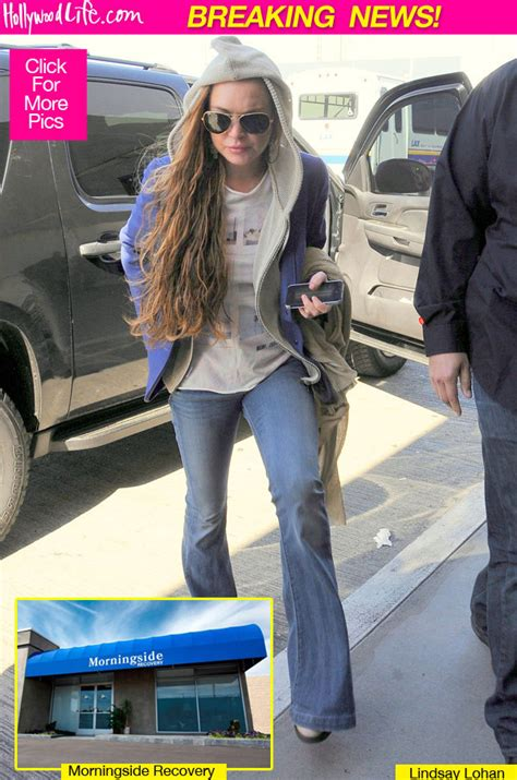 Lindsay Lohan Leaves Water Running by Lindsay Lohan Leaves Rehab Lilo On The Run From Recovery