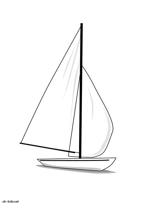 dessin bateau colorier coloriage bateau voilier meilleures id 233 es coloriage pour