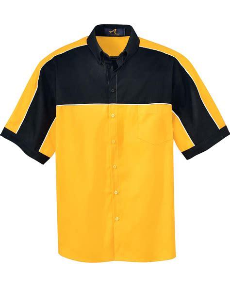 s color block shirt ash city 87013 s color block sleeve shirt button