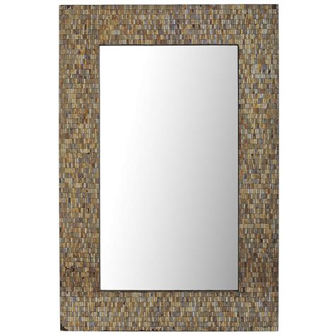 pier one bathroom mirrors amber mosaic 32x48 mirror pier 1 imports