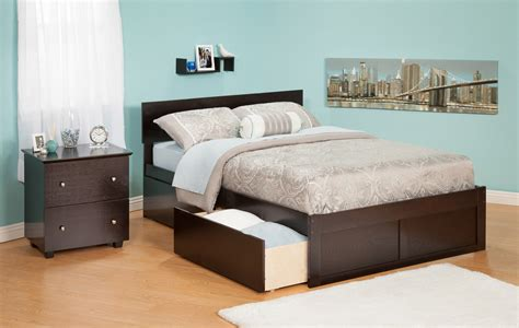 Bed Frames Orlando Orlando Espresso Platform Bed By Atlantic Furniture