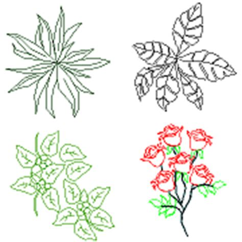 vasi fiori dwg piante e fiori in dwg blocchiautocad it
