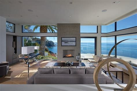 view interior of homes house in california brings the indoors