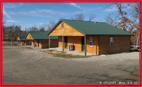 Cabins In Eufaula Ok by Lodging Eufaula Lakeshore Realty