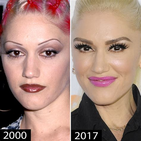 Gwen Lightens Up Brows It Or It by Eyebrow Transformations Jenner Mila