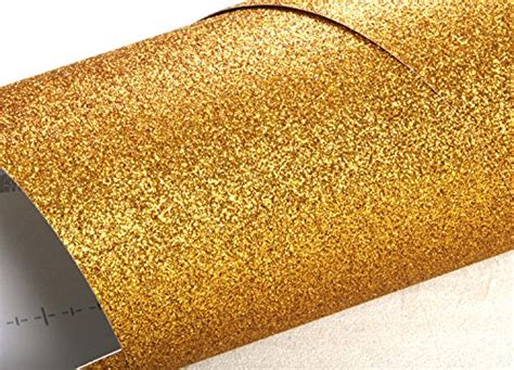 glitter wallpaper adhesive peel stick glitter sand bubble free interior film gold