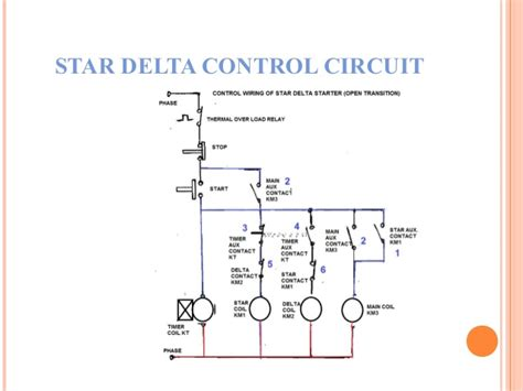 delta connection circuit diagram