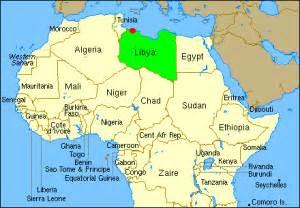 Libya World Map by Libya Map