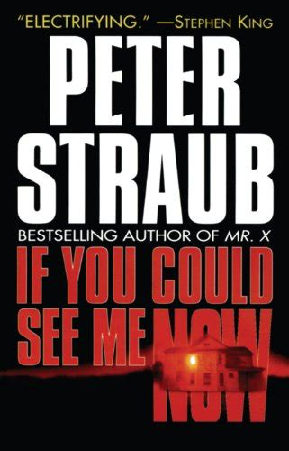 libro if you could see libro ghost story di peter straub