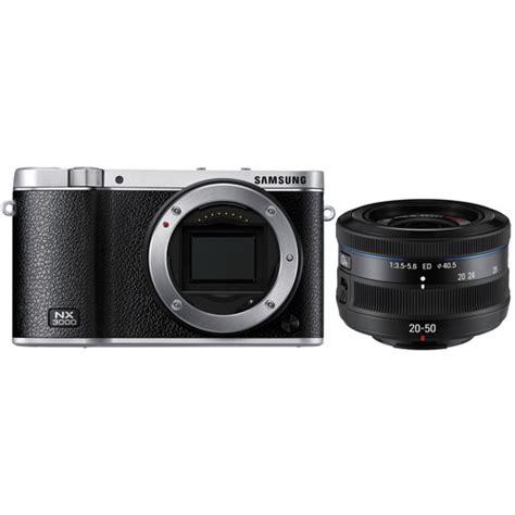 Samsung Mirrorless Nx3000 buy samsung nx3000 mirrorless digital kit with 20 50mm lens