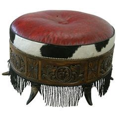 round red leather ottoman cowgirl decorations on pinterest cowgirl bedroom decor