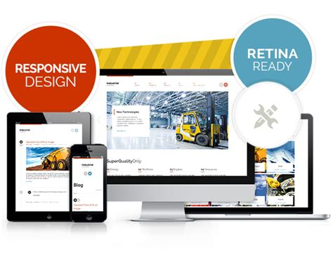 themeforest industrial theme industrial multi purpose responsive wp theme by