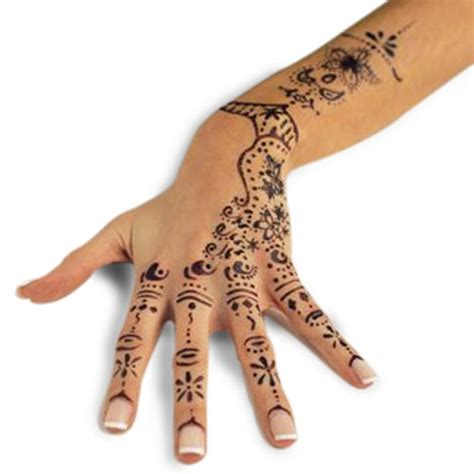 temporary tattoos removing henna design