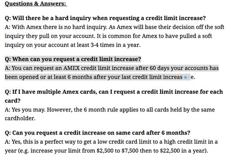 Credit Limit Format The Definitive Amex 3x Cli Guide Page 3 Myfico 174 Forums