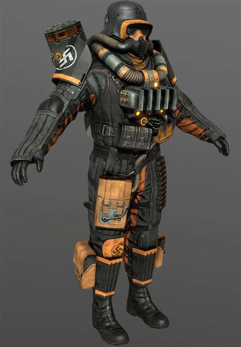 blood and earth modern wolfenstein the new order firetrooper by luxox18 on cg best