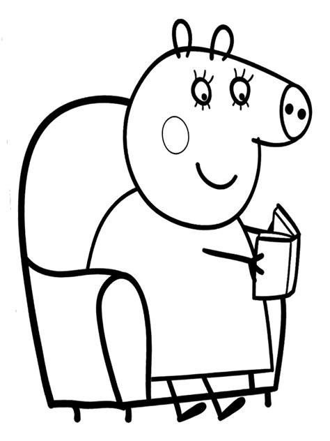 imagenes para colorear online peppa pig colorear online juegos de peppa para colorear