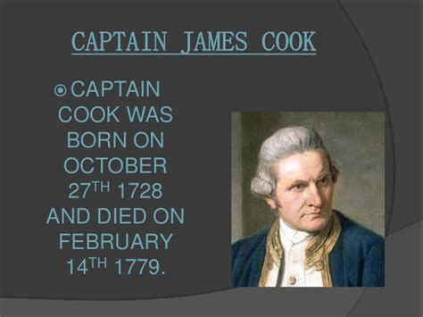 what of is captain captain cook by and bridget
