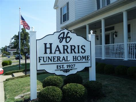 Harris Funeral Home by A B Sign Inc Cabinets
