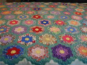 moonbear longarm quilting grandmother s flower garden