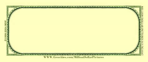blank dollar bill template blank number bills